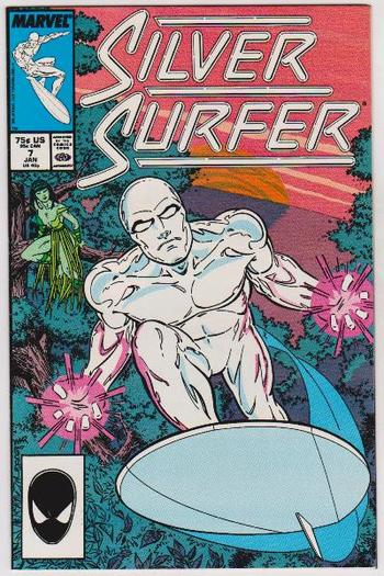 1988 The Silver Surfer #7 Issue - Marvel Comics