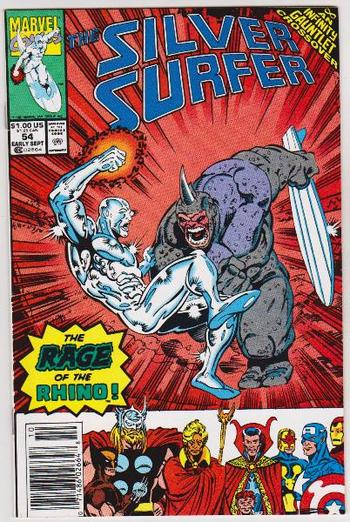 1991 The Silver Surfer #54 Issue - Marvel Comics