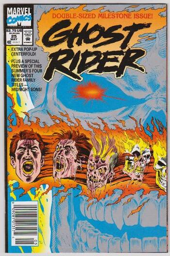 1992 Ghost Rider #25 Issue - Marvel Comics