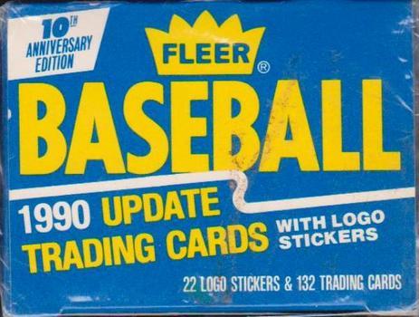 Sealed - 1990 Fleer Update Baseball 132 Card Set