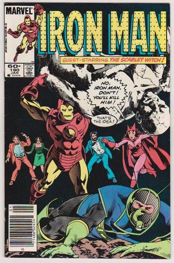 1985 Iron Man #190 Issue - Marvel Comics