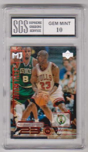 Graded Gem Mint 10 - Michael Jordan 1998 Upper Deck Living Legends #137 Card