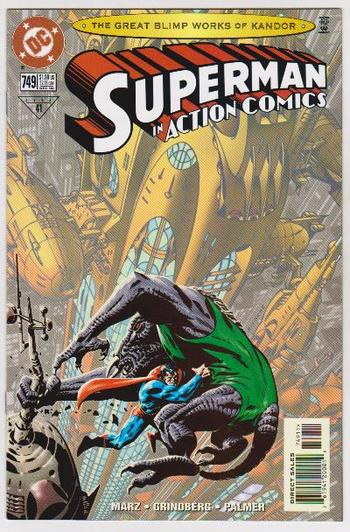 1998 DC Comics SUPERMAN IN ACTION COMICS #749 Issue