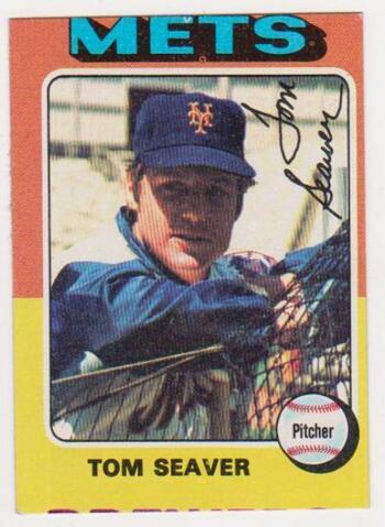 1975 Topps Tom Seaver #370 Card - HOF'er