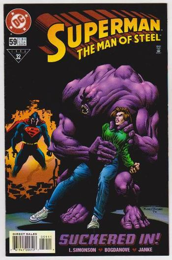 1996 DC Comics Superman The Man Of Steel #59 Issue