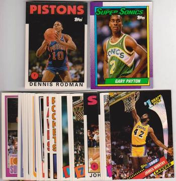25 Different 1993 Topps Archives The Rookies Cards - Dennis Rodman + More