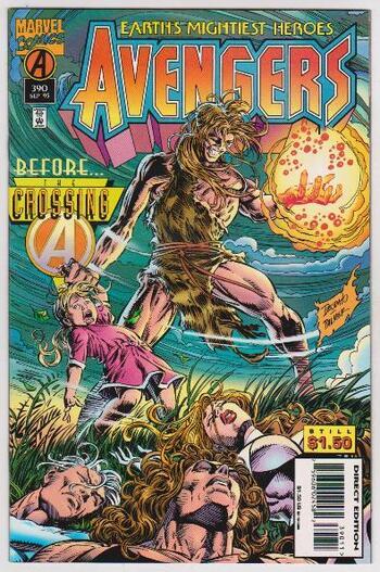 1995 Avengers #390 Issue - Marvel Comics
