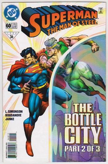 1996 DC Comics Superman The Man Of Steel #60 Issue