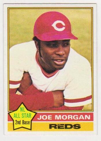 1976 Topps Joe Morgan #420 Card - HOF'er