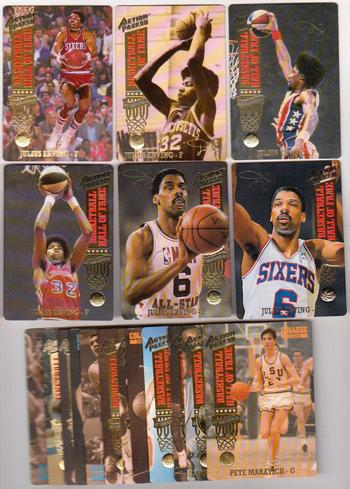 1993 Action Packed Basketball Series Two 42 Card Set w/ Julius Erving + More