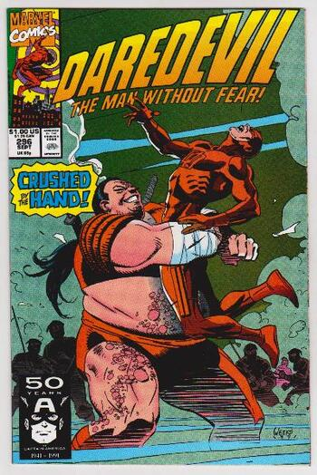 1991 DAREDEVIL #296 Issue - Marvel Comics