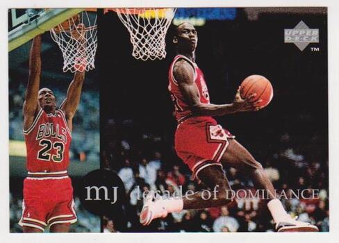 1994 Upper Deck MICHAEL JORDAN Rare Air 3.5x5 Jumbo Card #2 of 5