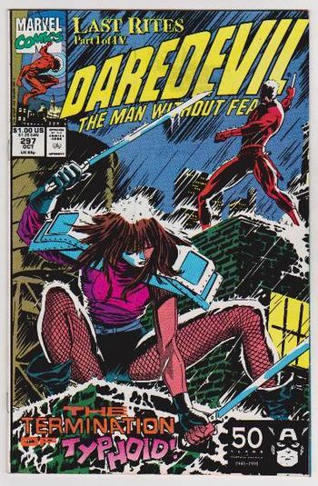 1991 DAREDEVIL #297 Issue - Marvel Comics