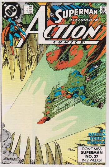 1989 DC Comics SUPERMAN IN ACTION COMICS #646 Issue