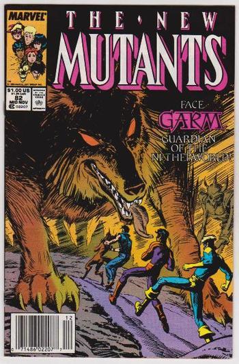 1989 The New Mutants #82 Issue - Marvel Comics