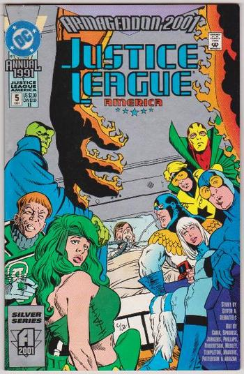 1991 DC Comics JUSTICE LEAGUE ANNUAL #5 Issue