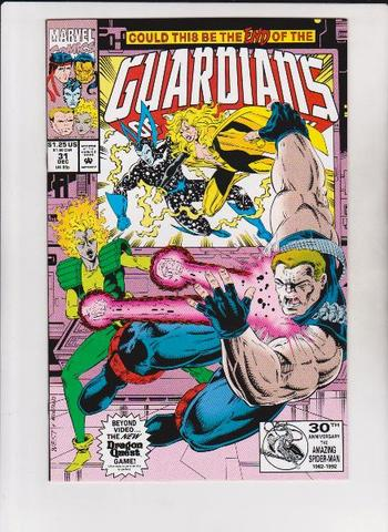 1992 Guardians Of The Galaxy #31 Issue - Marvel Comics