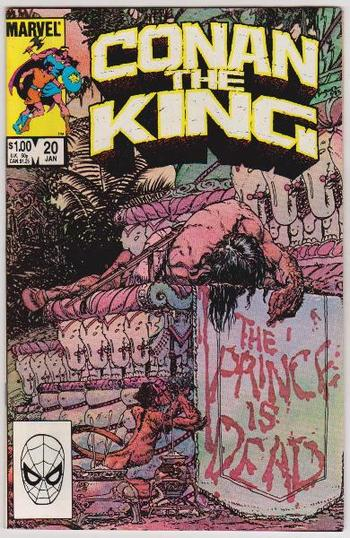 1984 Conan The King #20 Issue - Marvel Comics