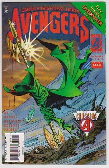 1995 Avengers #391 Issue - Marvel Comics