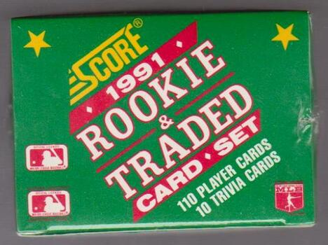 Sealed 1991 Score Rookie & Traded Set w/ Jeff Bagwell Rookie + More