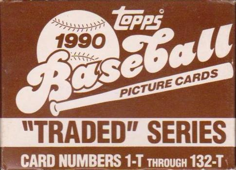 1990 Topps Traded Baseball 132 Card Set In Factory Box