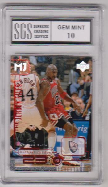 Graded Gem Mint 10 - Michael Jordan 1998 Upper Deck Living Legends #151 Card