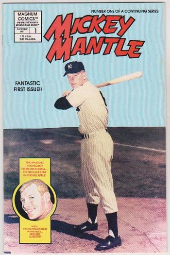 MICKEY MANTLE #1 Issue Comic Book - Magnum Comics