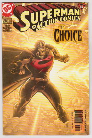 2001 DC Comics SUPERMAN IN ACTION COMICS #783 Issue