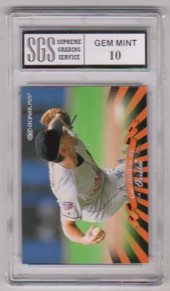 Graded Gem Mint 10 - Cal Ripken, Jr. 1998 Donruss #61 Card