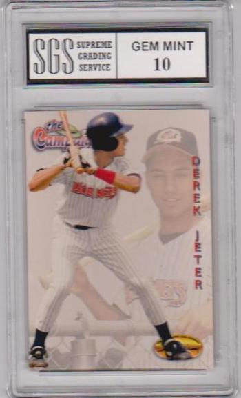 Graded Gem Mint 10 - Derek Jeter Rookie - 1994 Ted Williams Company