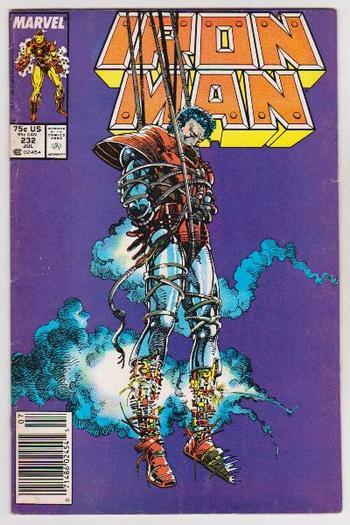 1988 Iron Man #232 Issue - Marvel Comics