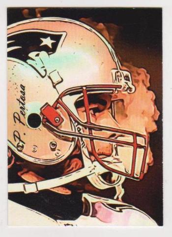 #21/25 Produced - Tom Brady Signed By Artist Giclee Art #TB-2 Card