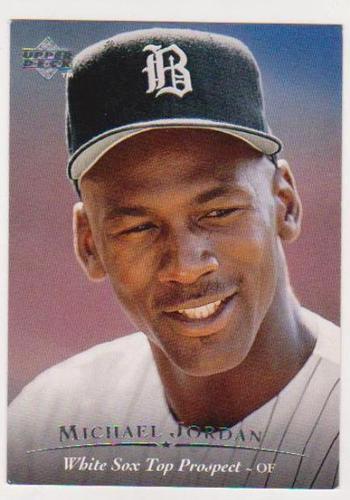Michael Jordan Rookie Card - 1995 Upper Deck Minor League #45