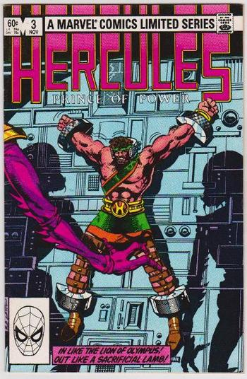 1982 Hercules #3 Issue - Marvel Comics