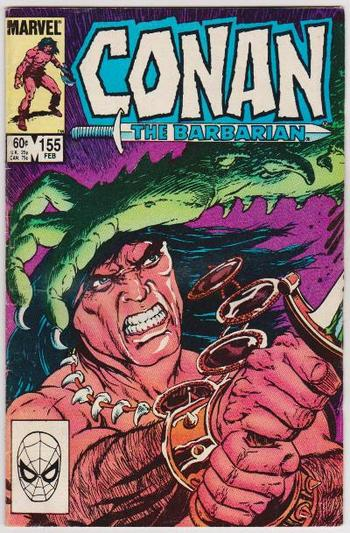 1984 CONAN THE BARBARIAN #155 Issue - Marvel Comics