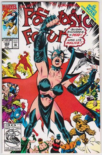 1992 Marvel Comics Fantastic Four #369 Issue