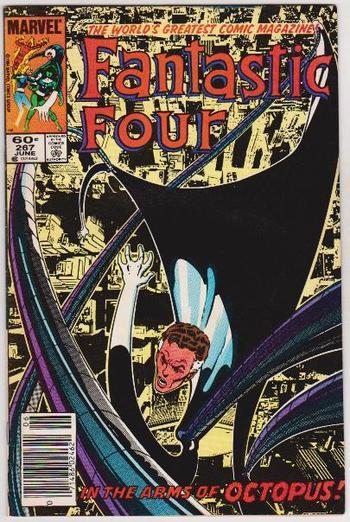 1984 Marvel Comics Fantastic Four #267 Issue