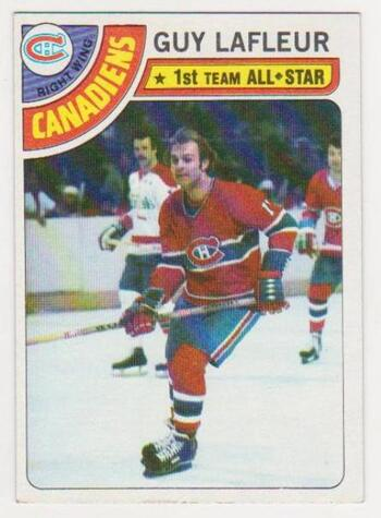 1978-79 Topps Guy LaFleur #90 Card - HOF'er