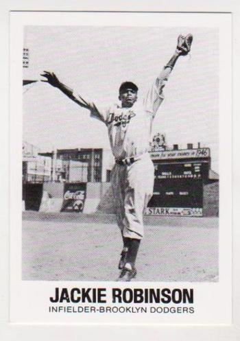 1977 TCMA Jackie Robinson #20 Card - HOF'er