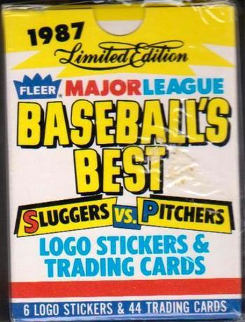 Sealed 1987 Fleer Baseball's Best 44 Card Set - Cal Ripken + More