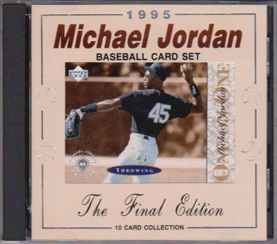 1995 Upper Deck Michael Jordan One On One 10 Card Insert Set In Special Collectors Case