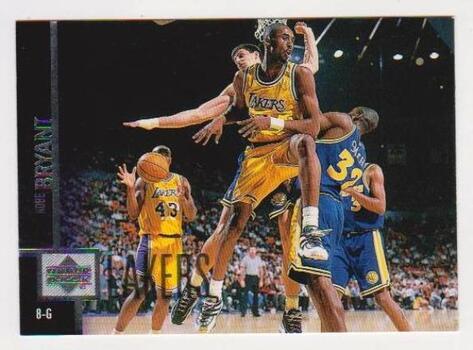Kobe Bryant 1997-98 Upper Deck #58 2nd Year Card