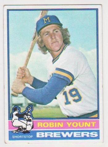 1976 Topps Robin Yount #316 2nd Year Card - HOF'er