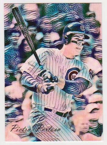 #19/25 Produced - Anthony Rizzo Signed By Artist Giclee Art #AR-1 Card