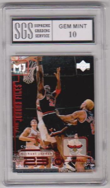 Graded Gem Mint 10 - Michael Jordan 1998 Upper Deck Living Legends #136 Card