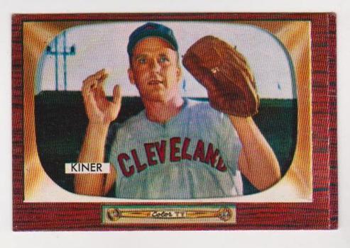 1955 Bowman Ralph Kiner #197 Card - HOF'er