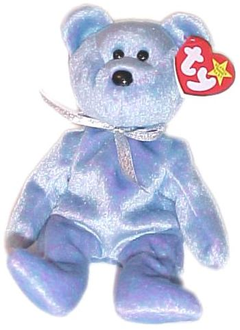 1999 Ty Beanie Baby CLUBBY II THE BEAR - New With Tags