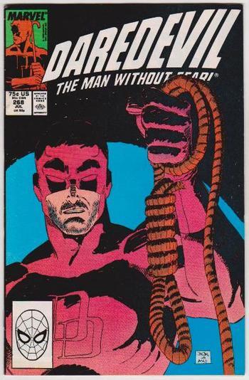 1989 DAREDEVIL #268 Issue - Marvel Comics