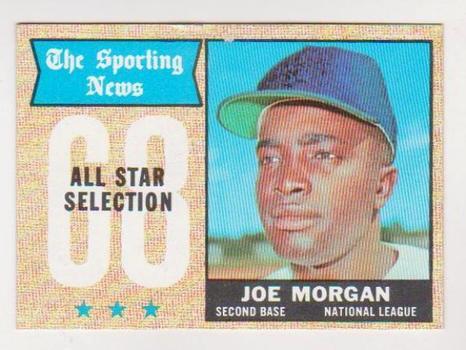 1968 Topps Joe Morgan #364 Card - HOF'er