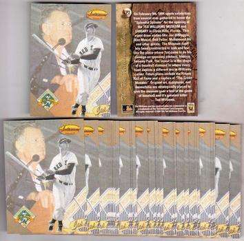 Lot of 20 1994 Ted Williams Company Ted Williams #LP2 Insert Cards